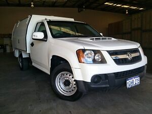 2010 Holden Colorado RC MY10 LX (4x2) White 5 Speed Manual Cab Chassis Malaga Swan Area Preview