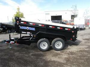 "2018 DUMPBOX 12FT TANDEM AXLE (10,400LBS GVW) 72"" X 12FT"