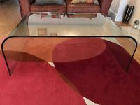 Glass Contemporary Coffee Table for sale