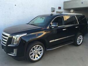 NEW 2017 Cadillac Escalade black on black NEW and 0 % finance