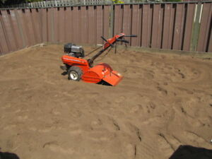 Rototilling, Grass Cutting, Brush Removal and much more