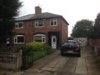 3 Bed Semi Detached House to rent - GCH, Double Glazed, Driveway, Big Gardens, lovely Décor.
