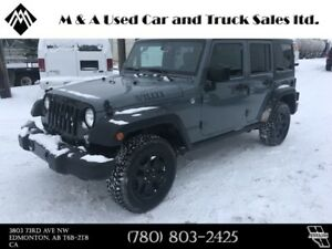 2014 Jeep Wrangler Unlimited Willys Edition 4X4 Leather
