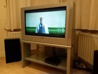 "32 "" Panasonic CRT TV with Freeview box"