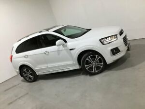 2017 Holden Captiva CG MY18 LTZ AWD White 6 Speed Sports Automatic Wagon Mile End South West Torrens Area Preview