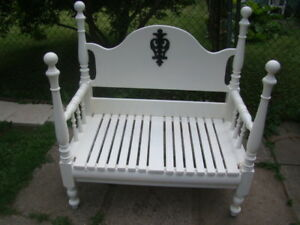 Custom made deck or garden bench( just reduced to$80)