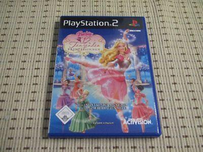 Barbie in Die 12 Tanzenden Prinzessinnen für Playstation 2 PS2 PS 2 *OVP*