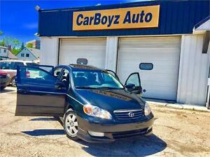 2004 TOYOTA COROLLA S FULLY LOADED, LOCAL MB VEHICLE