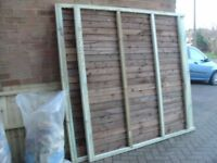 FULLY PREASURE TREATED FENCES CLOSE BOARD NOT WAINNEY