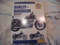 HARLEY DAVIDSON HAYNES WORKSHOP MANUAL PIN BADGES NEW PARTS