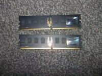 4GB DDR2 2X2GB STICKS.NO TEXTS PLZ.