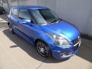 2013 Suzuki Swift FZ Sport Blue 7 Speed Constant Variable Hatchback Burnie Area Preview