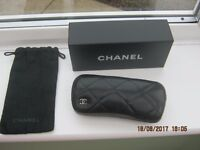 Chanel lambskin spectacle case