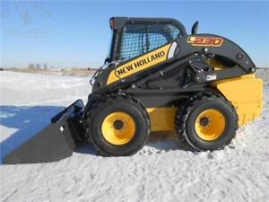 2012 NEW HOLLAND L230 SKID STEER WHEEL LOADER $38,500 VERY NICE