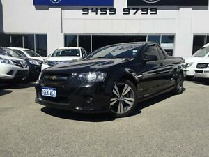 2012 Holden Commodore VE II MY12 SS Black 6 Speed Manual Utility Beckenham Gosnells Area Preview