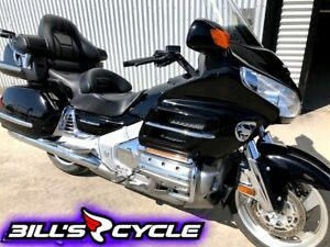 2008 HONDA GL 1800 A8   GoldWing Black