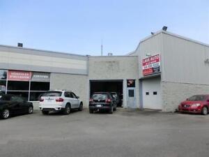 Commercial Garage For Rent Garage commercial à loue