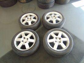 ford alloys wheels 185/55/r16