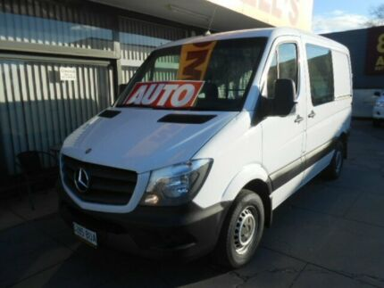 2014 Mercedes-Benz Sprinter 313 CDI SWB LOW ROOF White Automatic Van West Hindmarsh Charles Sturt Area Preview