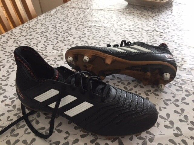 competitive price 34a7c 15a2d ... promo code for adidas predator football boots with sock size 6 371e9  c3317