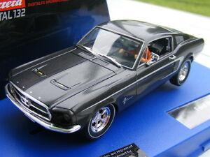 Carrera Digital 132 30450 Ford Mustang GT SCHWARZ UMBAU LICHT USA only