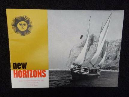 New Horizons, As the Sun sinks slowly in the West, booklet 12/64