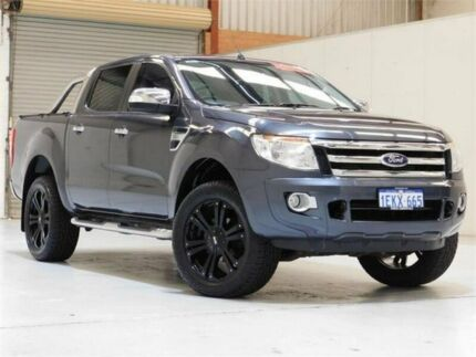 2014 Ford Ranger PX XLT Double Cab 6 Speed Sports Automatic Utility Bibra Lake Cockburn Area Preview