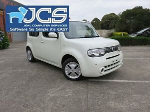 2011 Nissan Cube Z12 Z12 White Continuous Variable Wagon Bayswater Knox Area Preview
