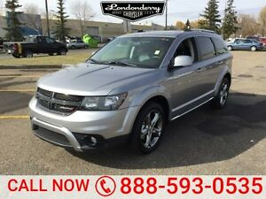 2016 Dodge Journey AWD CROSSROAD 7 PASS Navigation (GPS),  Leath