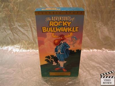 The Adventures Of Rocky  Bullwinkle   Vol  4  Blue Moose  Vhs  1991  Very Good