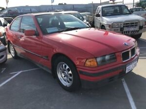 1996 BMW 316i E36 Open Air Red 5 Speed Manual Hatchback St James Victoria Park Area Preview