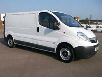 Vauxhall Vivaro 2900 2.0 CDTI 115PS H1 LWB VAN DIESEL MANUAL WHITE (2013)