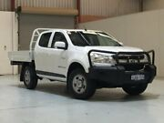 2012 Holden Colorado RG MY13 LX Crew Cab White 5 Speed Manual Cab Chassis Bibra Lake Cockburn Area Preview