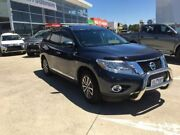 2014 Nissan Pathfinder R52 MY15 ST-L X-tronic 4WD Blue 1 Speed Constant Variable Wagon Hybrid Hoppers Crossing Wyndham Area Preview