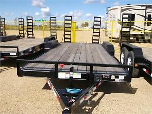 "REDUCED!!20' x 5"" Channel PJ Equipment Hauler Trailer,9.9K GVWR"