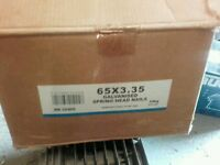 Spring head nails 65 x 3.35 part box