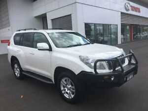 2011 Toyota Landcruiser Prado KDJ150R VX (4x4) Crystal Pearl 5 Speed Sequential Auto Wagon Sale Wellington Area Preview