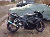 2015 WK Bikes 125 Sport. 125 cc Motorbike