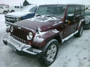 2008 Jeep Wrangler Sahara AUTO / NO PAYMENTS FOR 6 MONTHS !!!