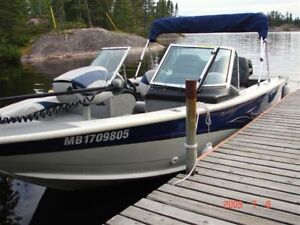 2007 Smoker Craft Pro Mag 165 Boat in new condition