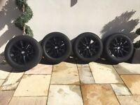 "Porsche Cayenne 18"" Wheels & New Tyres (fits VW Touareg and Audi Q7)"