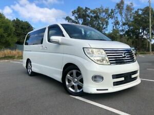 2006 Nissan Elgrand E51 Series 2 Highway Star White 5 Speed Automatic Wagon Arundel Gold Coast City Preview