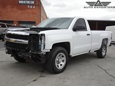 2018 Chevrolet Silverado 1500 Work Truck 2018 Chevrolet Silverado 1500 Salvage Damaged Vehicle! Priced To Sell! L@@K!!