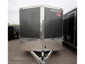 2016 Stealth Ultralite 7 x 16 enclosed cargo trailer with RAMP