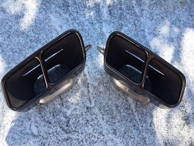 original Mercedes Endrohrblende  AMG Nightpaket CLA W117 GLA W156 A W176