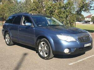 2007 Subaru Outback MY07 2.5I Premium Blue 4 Speed Auto Elec Sportshift Wagon Granville Parramatta Area Preview