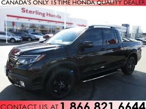 2017 Honda Ridgeline BLACK EDITION | TINT | 1 OWNER