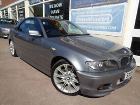 BMW 320 2.0TD 2005 Cd Sport F/S/H Convertible/Hard Top P/X Swap