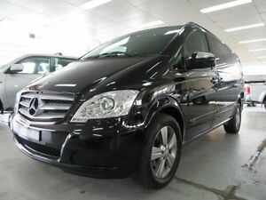2011 Mercedes-Benz Viano 639 MY11 3.0 CDI Black 5 Speed Auto Touchshift Wagon Fyshwick South Canberra Preview