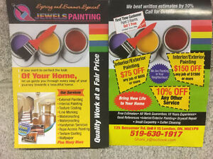 Jewels Painting Fall/Winter Promotion!